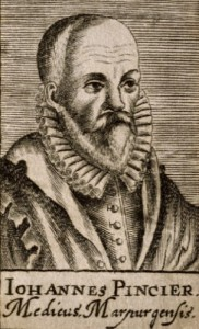 Johann Pincier, the author who first put an account of the Warsaw basilisk in print at the turn of the seventeenth century. From a line engraving of 1688. Read more: http://www.smithsonianmag.com/history/on-the-trail-of-the-warsaw-basilisk-5691840/#UkTUlmFXBJ2QxrFj.99 Give the gift of Smithsonian magazine for only $12! http://bit.ly/1cGUiGv Follow us: @SmithsonianMag on Twitter