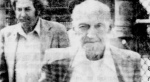 Paul Geidel after: aged 86 at the time of his release from Fishkill Correctional Institute in 1980.
