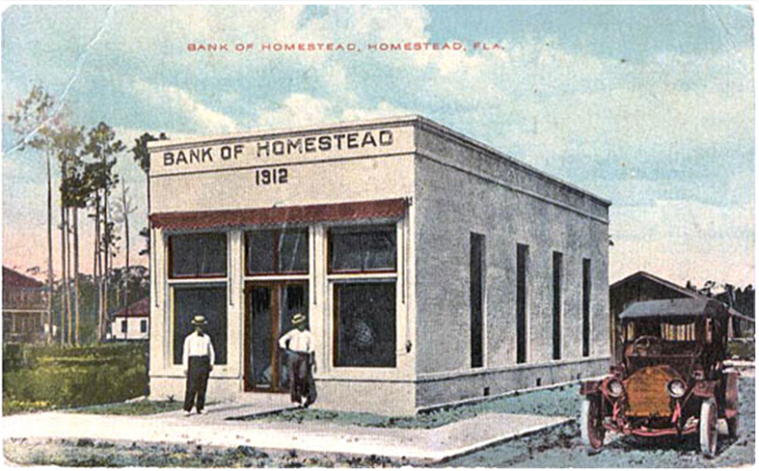 Homestead Bank, robbed 15 Sep 16