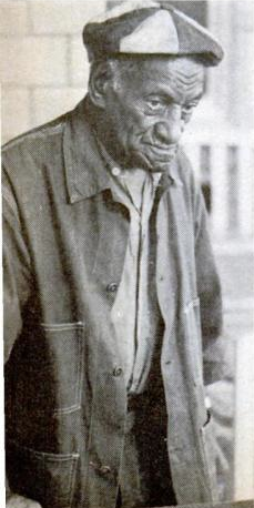 Grigsby at 91, back – voluntarily this time – in Indiana State Penitentiary.