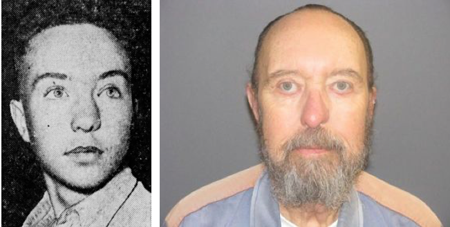 Oliver Terpening before and after (1947 and 2010): murder disappointed him, but he had 63 years to reflect on why.