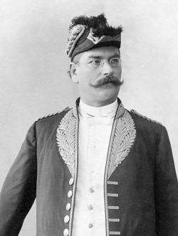 Alfred Ilg, Swiss-born advisor to Menelik II