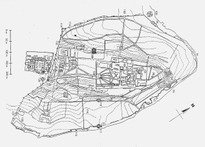Plan of the Topkapi and outer palace