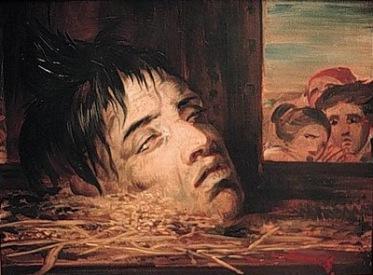 Antoine Joseph Wiertz: Guillotined Head (1855). Musée Antoine Wiertz, Brussels.