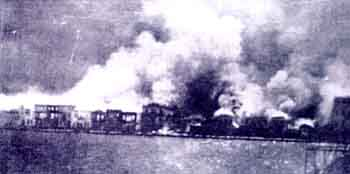 Smyrna burning, September 1922
