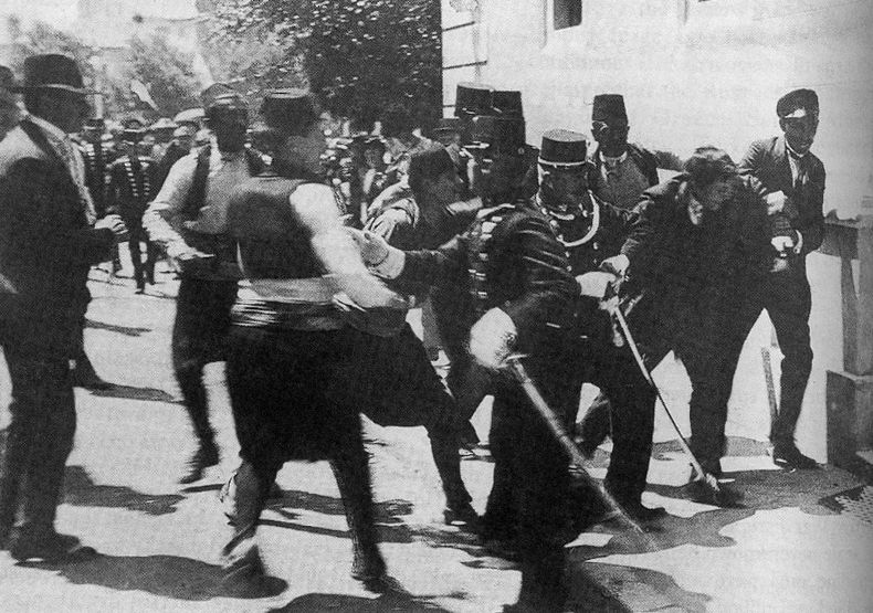 The Assassination of Archduke Franz Ferdinand and Wife