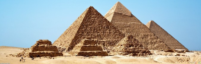 The Great Pyramid–built for the Pharaoh Khufu in about 2570 B.C., sole survivor of the Seven Wonders of the ancient world, and still arguably the most mysterious structure on the planet