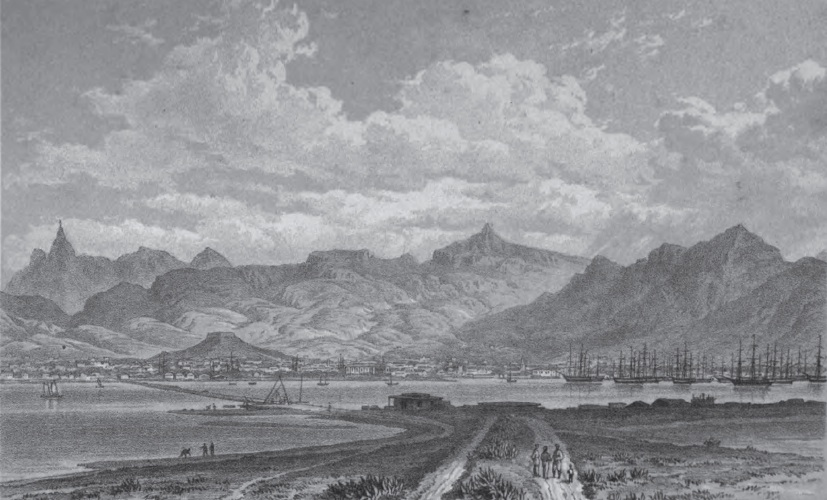 Port Louis, Mauritius, in the first half of the nineteenth century