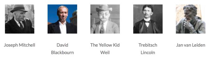 5 writers
