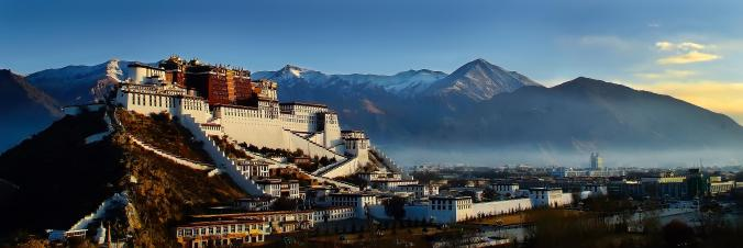 The Potala Palace, Lhasa: home to nine successive Dalai Lamas, a number of them suspiciously short-lived.