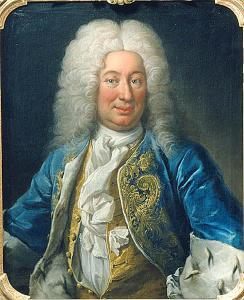 Frederick I of Sweden, the supposed originator of a plot against King Charles's life, portrayed c.1730. Image: Wikicommons.