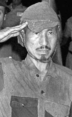 Hiroo Onoda held out on the Philippines island of Lubang from 1945 until hi surrender in 1974. His intelligence, determination, and refusal to surrender made him a celebrity – though he was more widely regarded as a hero outside Japan than in it.