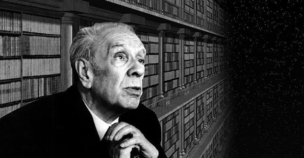 Jorge Luis Borges and the infinite library