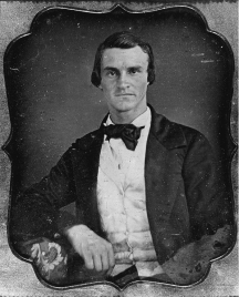 A pre-war Daguerrotype of James R. McClintock: ?1829-?1879. Image: Naval Historical Center.