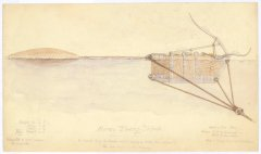 A Harvey towing torpedo – one of a new generation of weapons being developed in the 1870s. According to George Holgate's version of events, McClintock's fatal