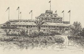 The Spanish Fort amusement park on Lake Pontchartrain was the spot chosen by