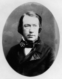 Charles Mackay, the Scottish biographer of Sir Robert Peel, was the first to ascribe an attempted donation of £10,000 to Sultan Abdülmecid I. Photo: Herbert Watkins, late 1850s.
