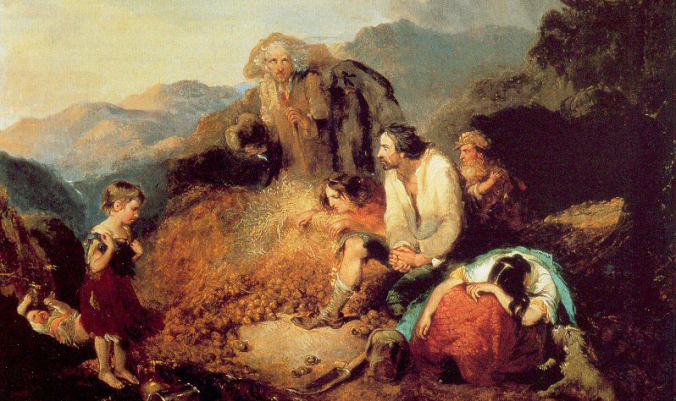 Daniel MacDonald's painting