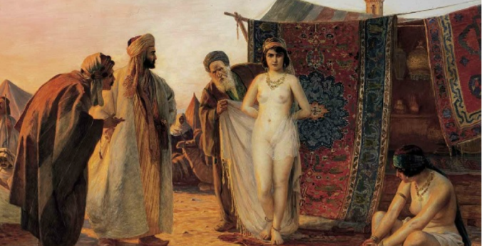 Female slaves commanded a premium in the Crimean slave trade, a lucrative business that became the subject of many Orientalist fantasies.