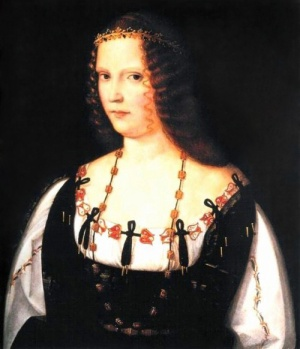 A reputed portrait of Lucrezia Borgia, the most notorious poisoner in a family renowned for poisoning.