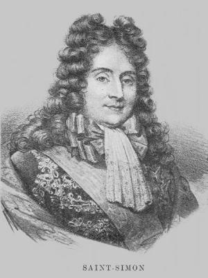 Louis de Rouvroy, the duc de San-Simon (1675-1755). His gossipy memoirs made light of the Poisons Affair.