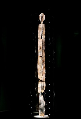 The Shigir idol, which stands 9 feet [2.8 metres] tall and dates to around 9,000 B.C., was found in a bog not far from Yekaterinburg in the Urals.